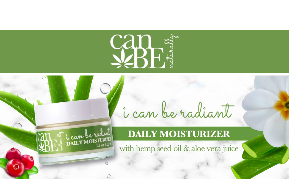 canBE i can be radiant Daily Moisturizer