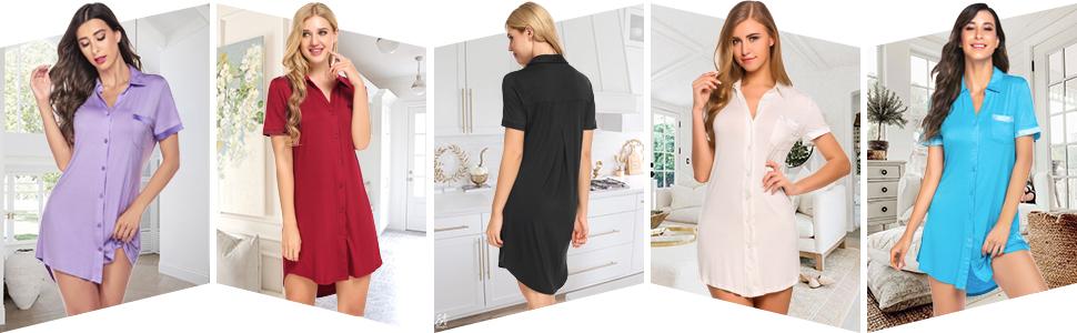 women's sleepshirt nightshirt