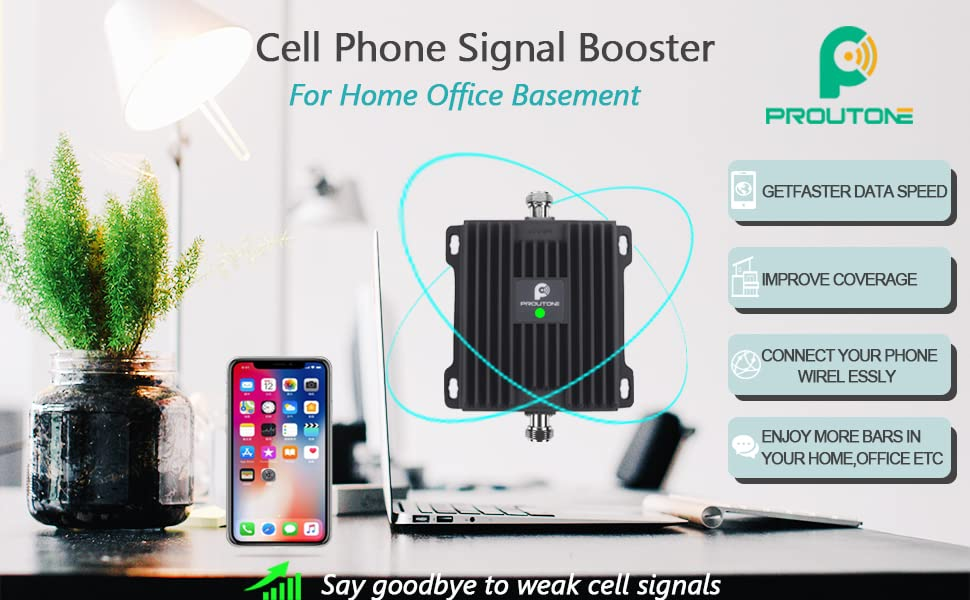 PROUTONE cell signal booster for 4G Band 12 and band 17 only