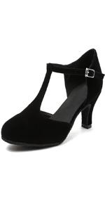 t strap heels women