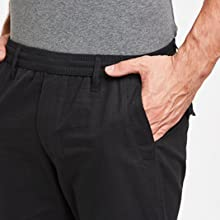 Cotton Trousers with Pocket