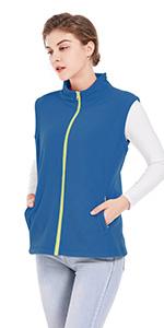 blue vest women