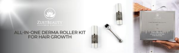 zust beauty zustbeauty derma roller kit face facial hair skin care skincare microneedling dermaplane