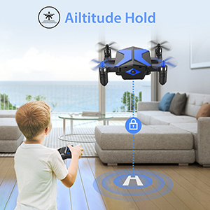 Flashandfocus.com 5a448f51-b24d-4602-8707-17aee87a0e26.__CR0,0,300,300_PT0_SX300_V1___ Mini Drone with camera for KidsBeginners , Foldable Pocket RC Quadcopterwith App Gravity Voice Control Trajectory Flight, FPV Video, Altitude Hold, Headless Mode, 360°Flip, Toys Gifts for Boys Girls