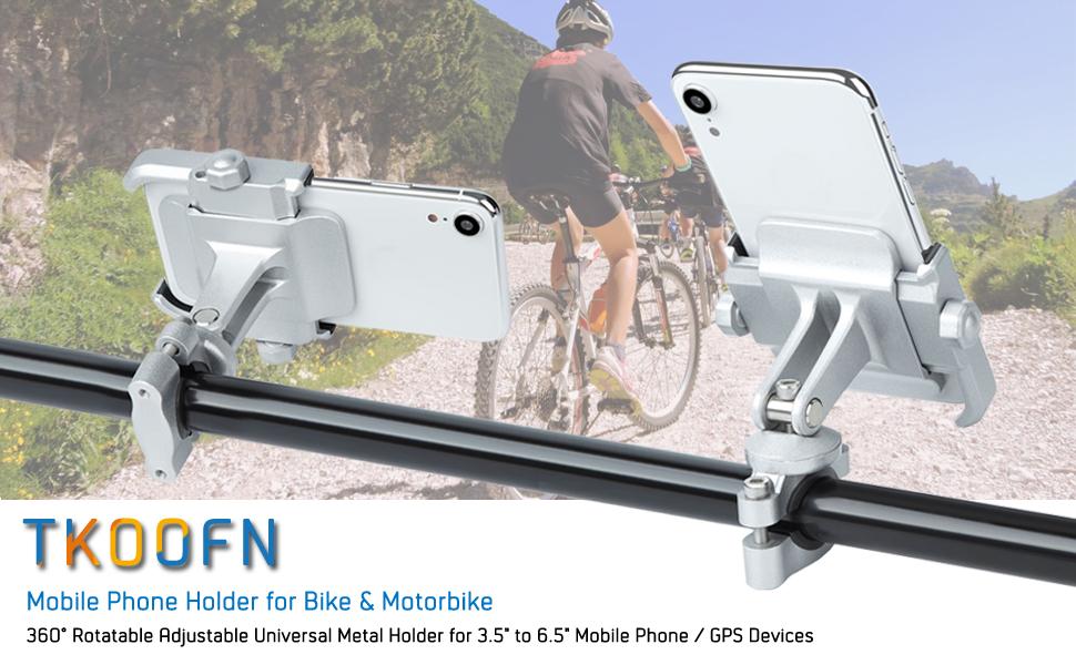 bike motorbike 360 degree adjustable phone holder