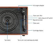Tocadisco XN092 Lauson Función Grabación Encoding PC-Link ...