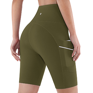 ODODOS Dual Pockets Yoga Shorts
