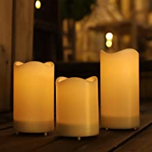 window candles with sensor dusk to dawn