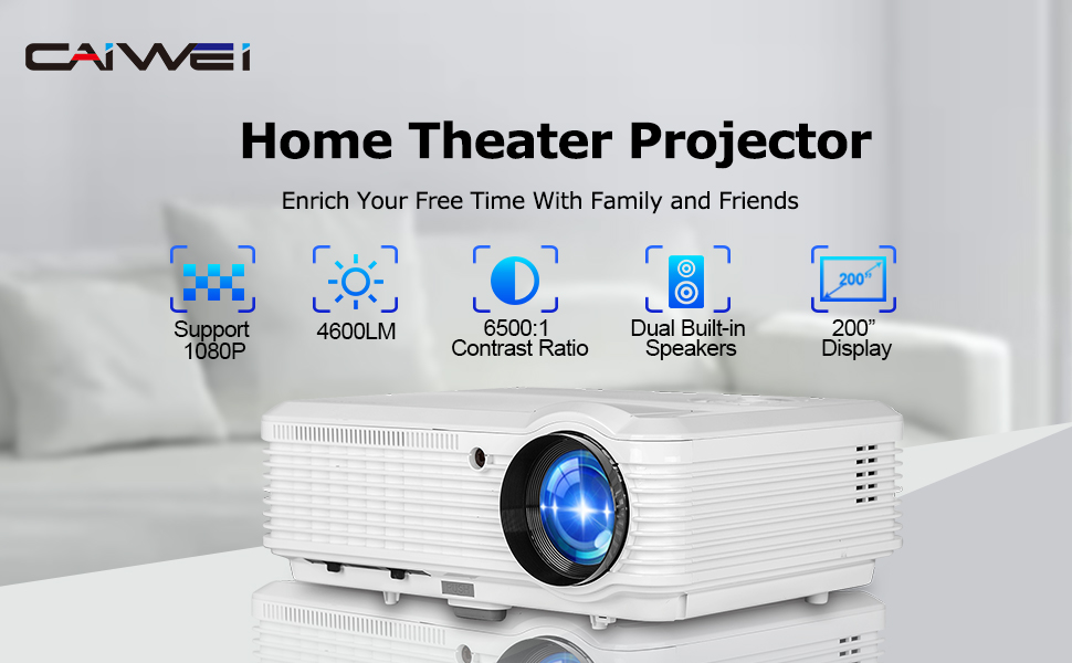 1080p projector home theater