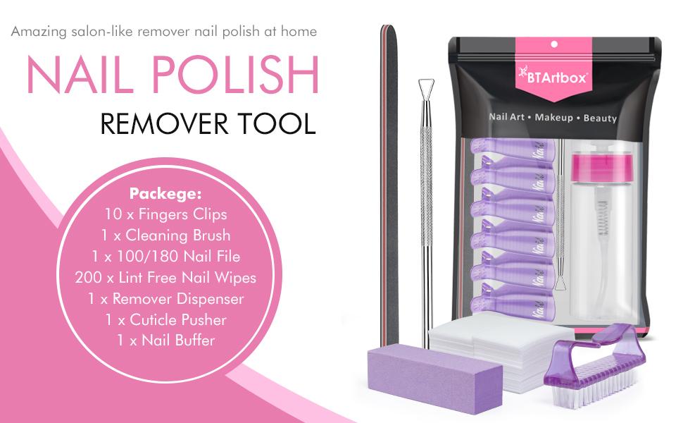 gel nail polish remover