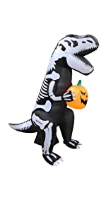 bzb goods halloween inflatables led lights blowup air blown yard holiday garden outdoor decoration