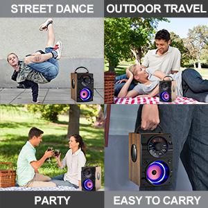 outdoor party speaker