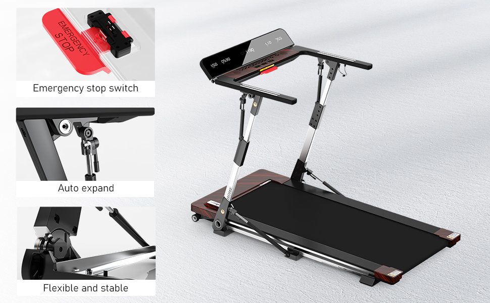 Free installation of automatic treadmill
