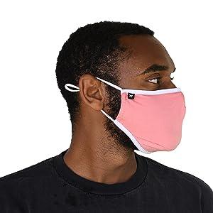 Pink Bamboo Mask