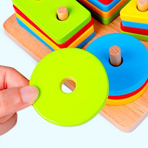 Christmas Gift for ideal Shape Sorter Preschool Learning Toy
