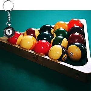 Billiards Ball Keyring