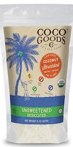 Organic Desiccated Coconut Shredded