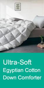 Egyptian Cotton Down Comforter