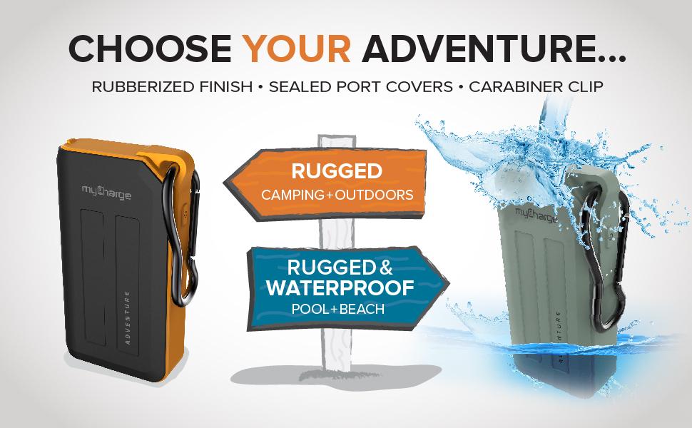 myCharge Choose Your Adventure