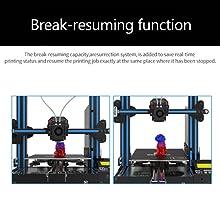 Break-resuming function