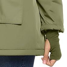army green coat parka