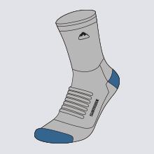 reinforced heel & toe