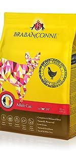 ブラバンソンヌ キャットフード 成猫用 チキン味