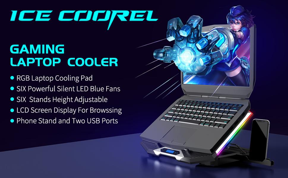 gaming laptop cooler pad