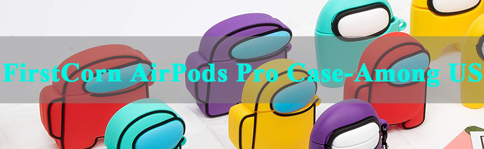 Among US Cartoon Case Compatible for Apple AirPods Pro