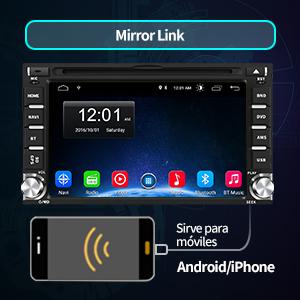 pantalla coche 2 din Android autoradio coche 2 din Android radio coche 2 din Android radio