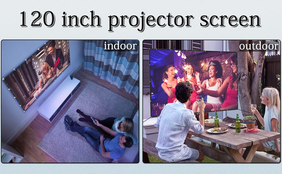 outdoor projector screen portable projector screen For indoor and outdoor