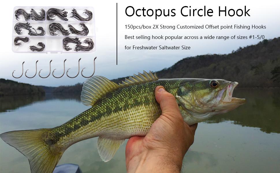 OCTOPUS CIRCLE HOOK