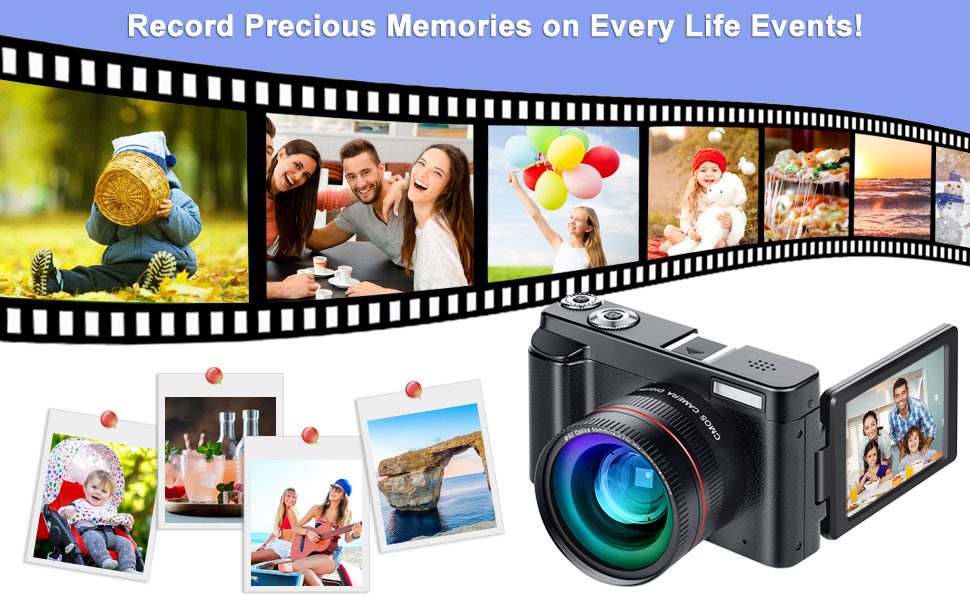 digital toutube camera