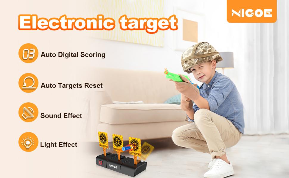 Features of NIGOE electronic digital targets