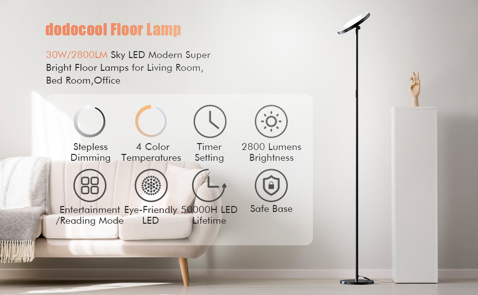sky floor lamp