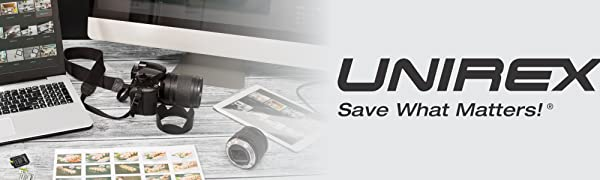 unirex, sd cards, micro sd cards, microsd, sdcard, sd card adapter, micro sd adapter, ssd drive