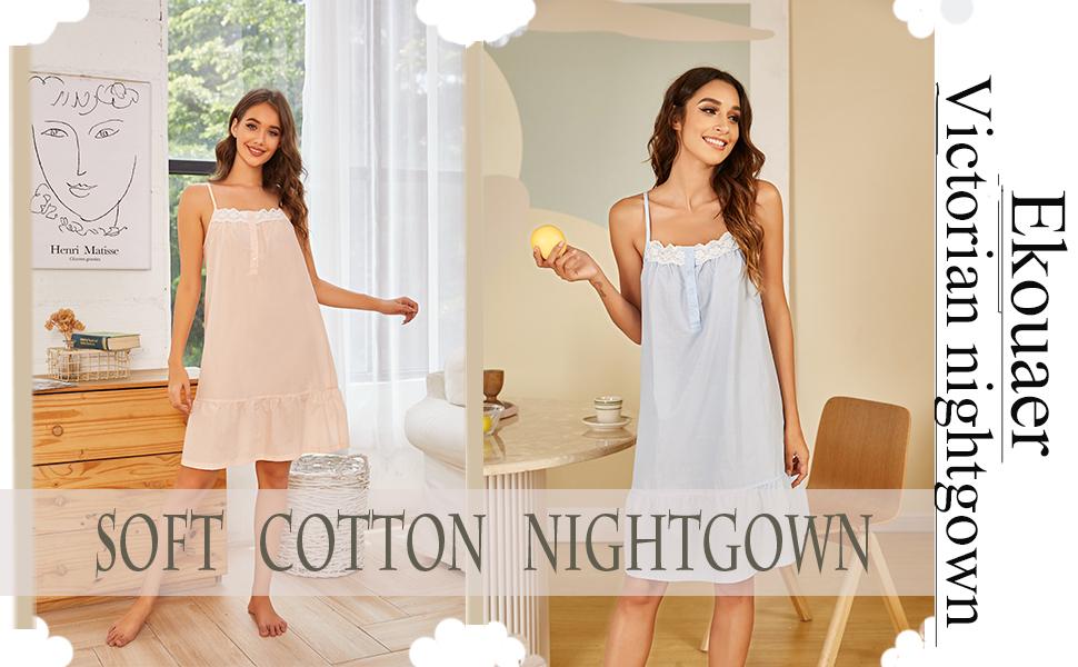 ekouaer nightgown for women