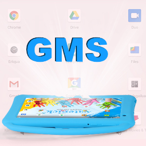 GMS certificated - Kids Tablet 7 Inch IPS HD Display QuadCore Android 10.0 Pie Tablet PC For Kids - GMS Certificated Dual Cameras 2GB RAM 32GB ROM WiFi With Handheld Kids-Proof Silicon Case For Kids Educational (Pink)