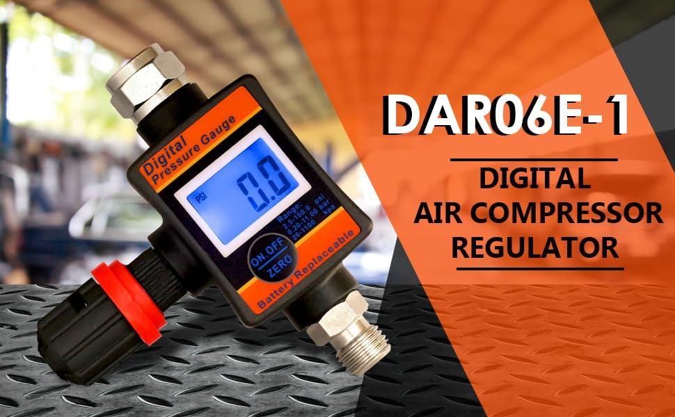 Enjoy Top Performance and Cost-Saving Advantage of DAR06E-1 Air Compressor Regulator