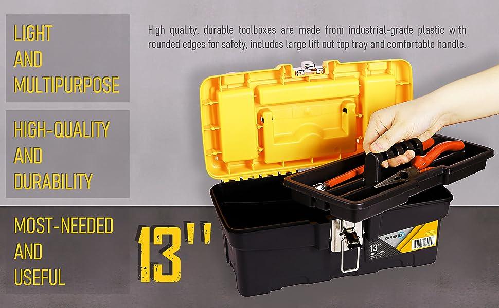 light heavy duty powerbox coolbox dealt walt truck job handheld plastic craftsman container medium