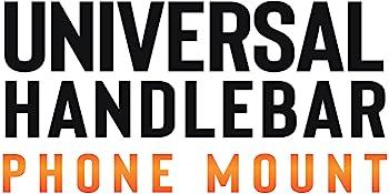 Universal handlebar phone mount
