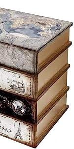 Book Bookends Bookshelf Library Decor 7 inch