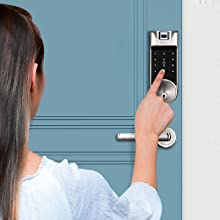 Unlock By Entering Your Code On The Keypad