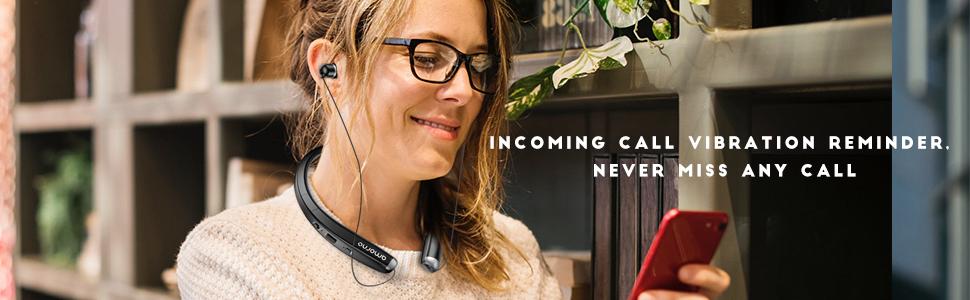 Bluetooth neckabnd headphones