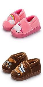 boys girls slippers