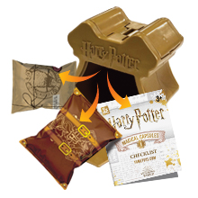 unboxing package harry potter magical capsules