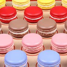 Macaron silicone mat