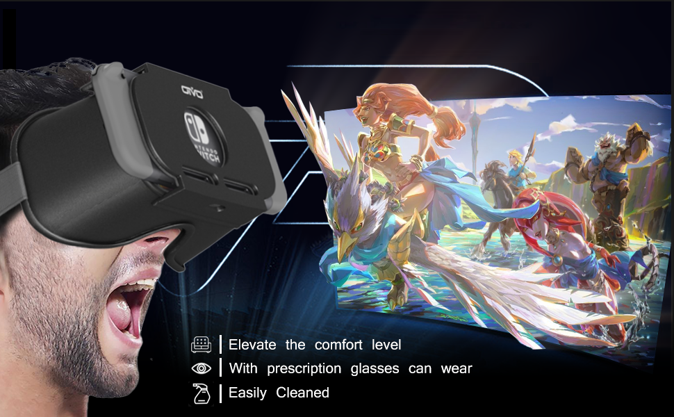 nintendo switch vr goggle headset for nintendo switch