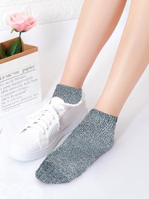 Womens Mid Ankle Socks Cotton Sport Athletic Socks