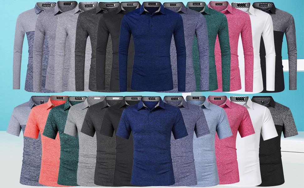 Hindsight 2020-1 Mens Short Sleeve Polo Shirt Regular Blouse Sportswear